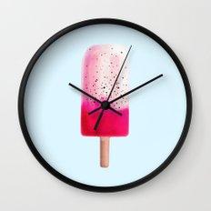 Dragon Fruit Popsicle Wall Clock