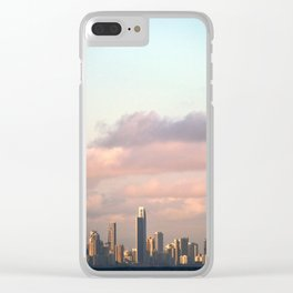 City over Sea Clear iPhone Case