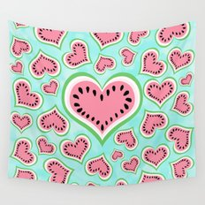 Watermelon Love... Wall Tapestry