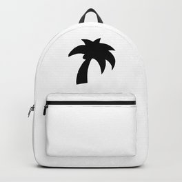 Palm Tree Silhouette Backpack