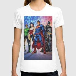 all factions hero T-shirt