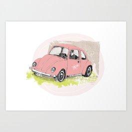 VW-Käfer Art Print