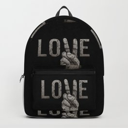 Peace Love Backpack