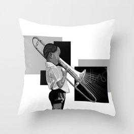 Jazz baby Throw Pillow