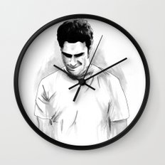 DARK COMEDIANS: Seth Rogen Wall Clock