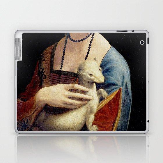 The Lady with an Ermine - Leonardo da Vinci Laptop & iPad Skin
