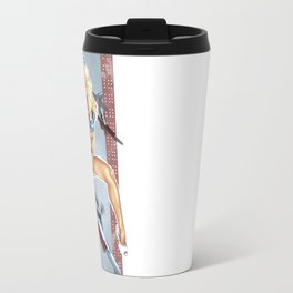 WWII Nose Art - Candyman Travel Mug