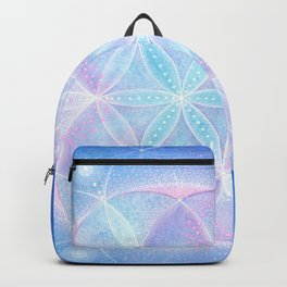 Light Frequency Mandala | Seed of Life Backpack