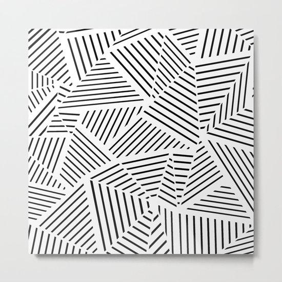 Ab Linear Zoom W Metal Print