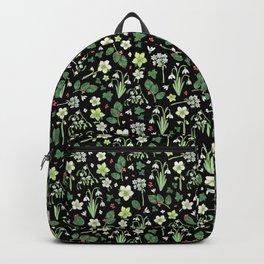 Winter Garden - black Backpack