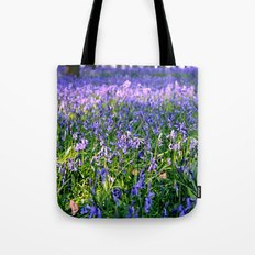 drowning in the bluebell sea Tote Bag