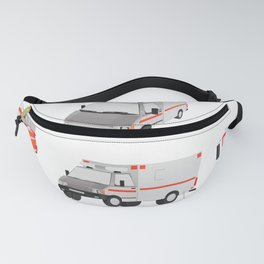 ambulance, special car Fanny Pack