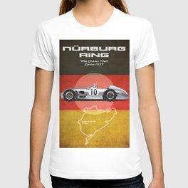 Nürburgring Racetrack Vintage T-shirt