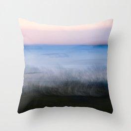 Adventure Along the Wild Sea Throw Pillow