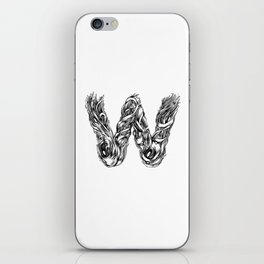 The Illustrated W iPhone Skin