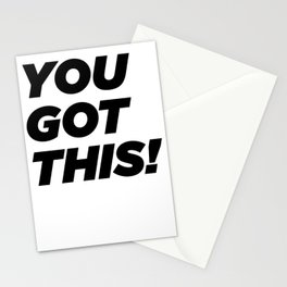 You Got This! Stationery Cards