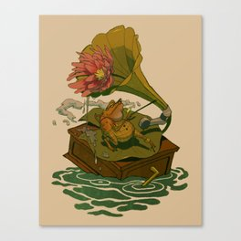Old Toad Canvas Print