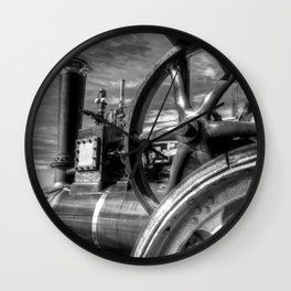 Clayton And Shuttleworth Traction engine Wall Clock