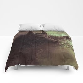 Wolfs Abstraction Comforters