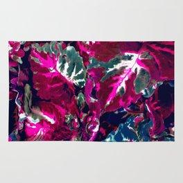 Vintage Satin foliage Rug