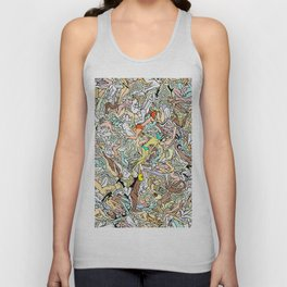 Martians Invasion Unisex Tank Top