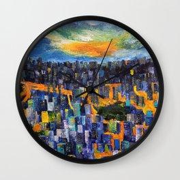 City Night - Hope Wall Clock