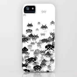 Invaded III B&W iPhone Case