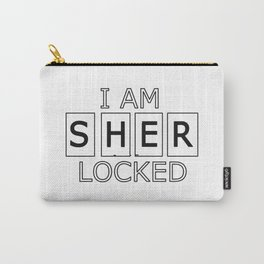 I AM SHER-LOCKED Carry-All Pouch