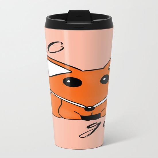 ZERO Fox Given Metal Travel Mug