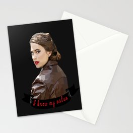 I Know My Value Stationery Cards