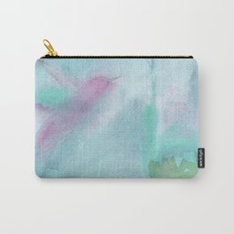 Hummingbird Selah - Aqua Carry-All Pouch