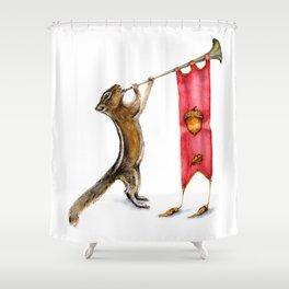Herald Chipmunk Shower Curtain