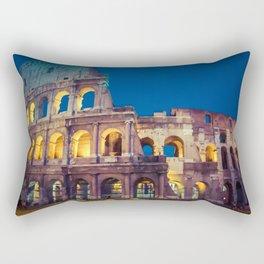 Coliseum at Night Rectangular Pillow