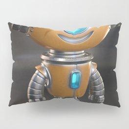 Cute little robot character design Pillow Sham