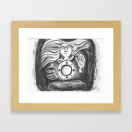 Amulet Framed Art Print