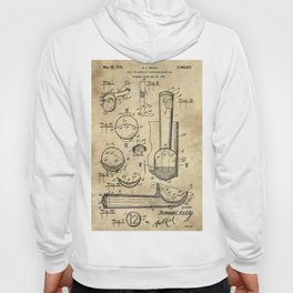 Ice Cream Scoop Blueprint Industrial Farmhouse Hoody