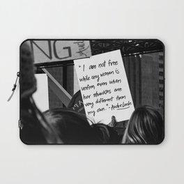 WOMEN'S MARCH 2018 Laptop Sleeve