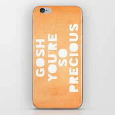 Gosh (Precious) iPhone & iPod Skin