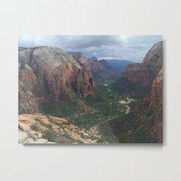 Angels Landing , Zion National Park IV Metal Print