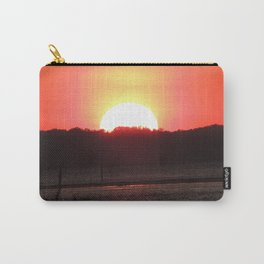 Sunset over water Carry-All Pouch