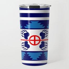 Bear Spirit (Blue) Travel Mug