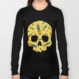 Skull Pineapple Y Long Sleeve T-shirt