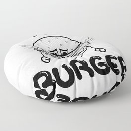 Nada Burger Floor Pillow