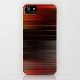 """Abstract Autumn Porstroke (Pattern)"" iPhone Case"