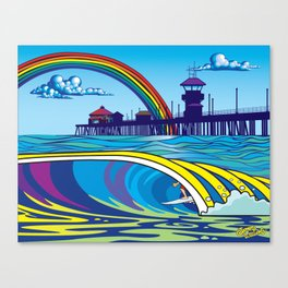South Side Slide Canvas Print