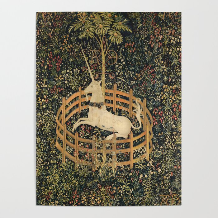 The Unicorn In Captivity Poster