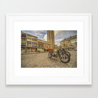 bmw Framed Art Prints featuring Dunkerque BMW by Rob Hawkins Photography