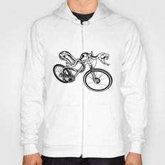 Snake Riding  A Mountain Bike Hoody