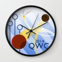 quidditch Wall Clocks featuring Quidditch World Cup 2014 by makoshark
