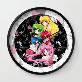Sailor Senshi - Uncovered (Original Color Edition) Wall Clock